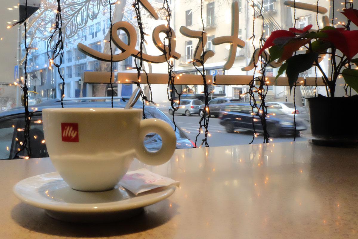 Сеть кафе Entrée в Тбилиси