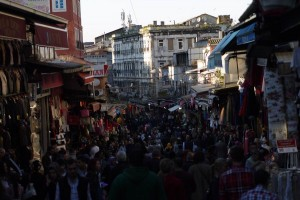 оживленные улицы Стамбула