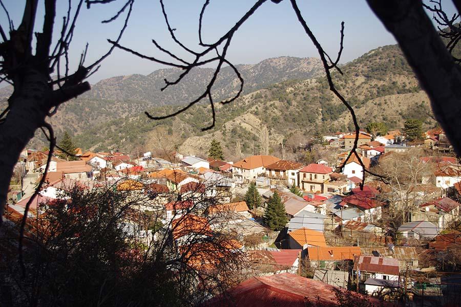 Кипр, занятная пряничная деревушка, каких много на Кипре