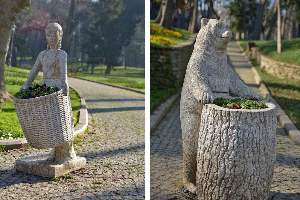 Скульптуры Парка Гюльхане