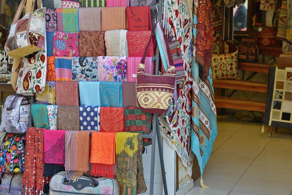 Турецкие текстиль - платки и шарфы
