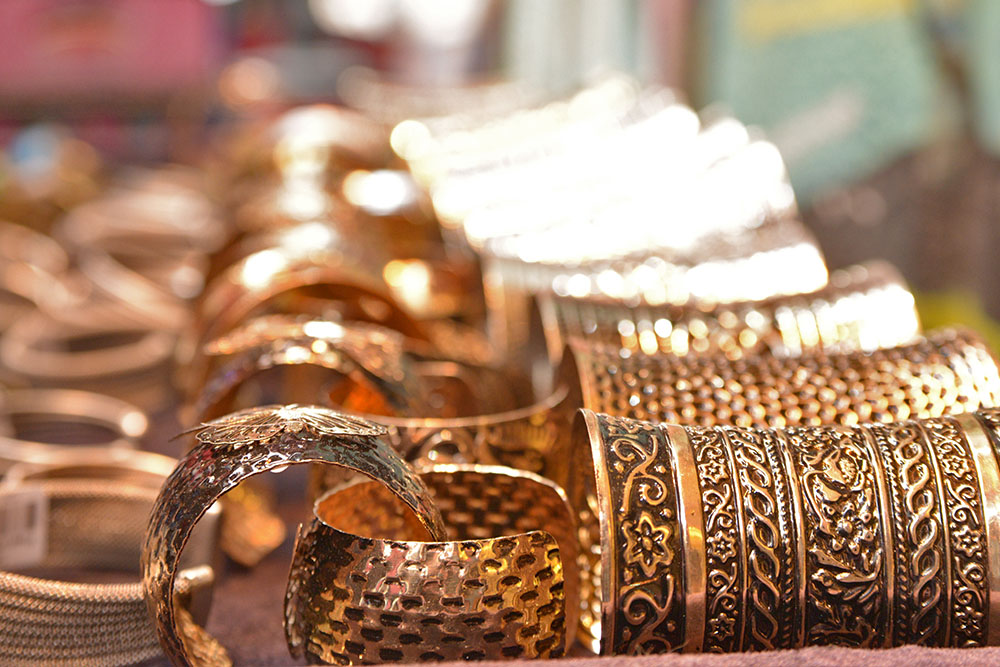 Турецкая металлическая бижутерия