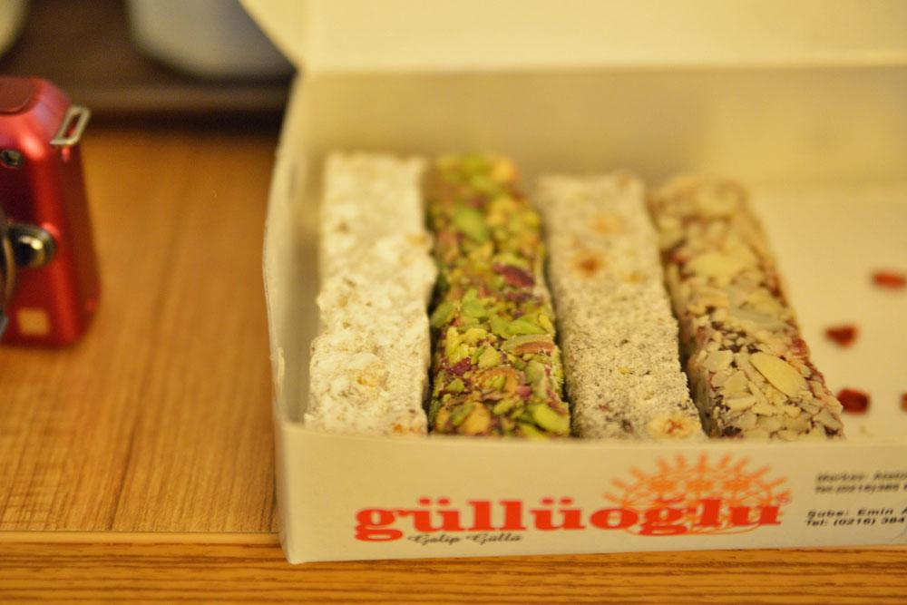 Турецкие сладости - рахат лукум