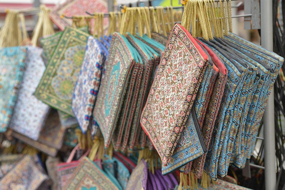 Турецкие текстильные кошельки