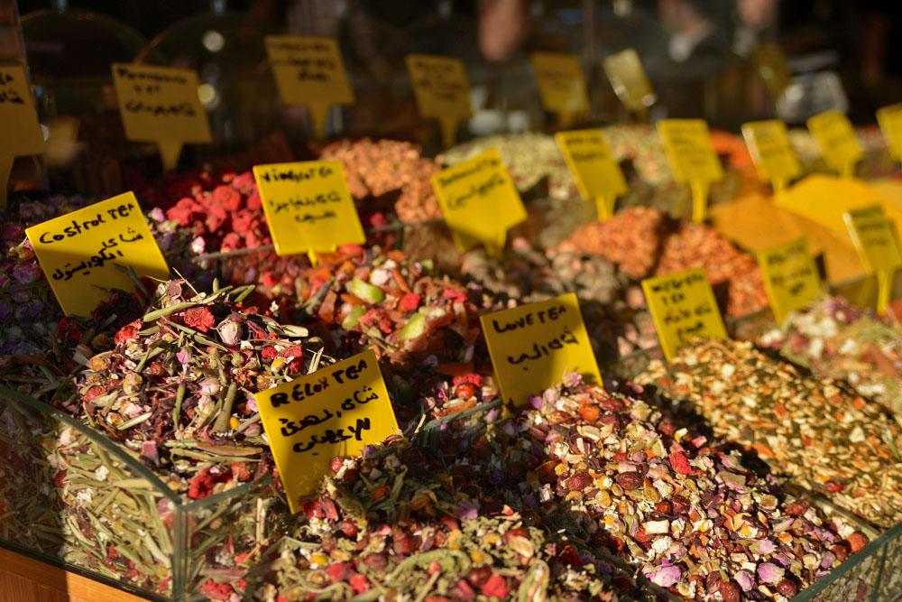 Разнообразие турецкого чая - цветочный, травяной, черный и белый