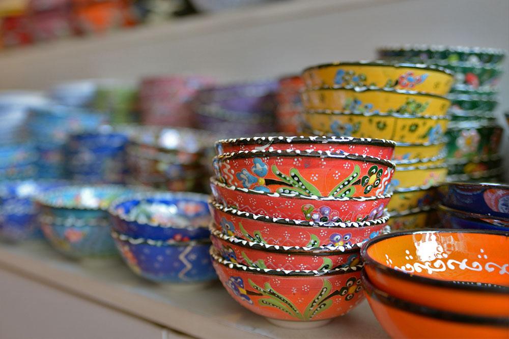 Керамика из Турции - тарелочки
