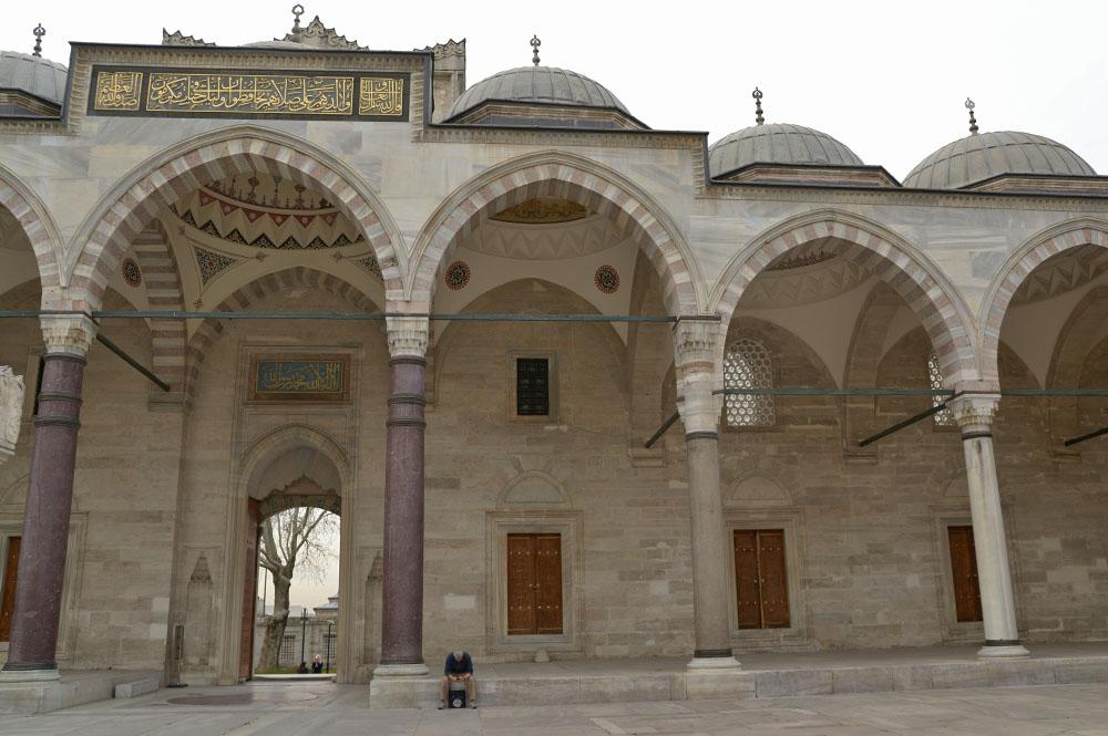 Внутренний двор Сулеймание