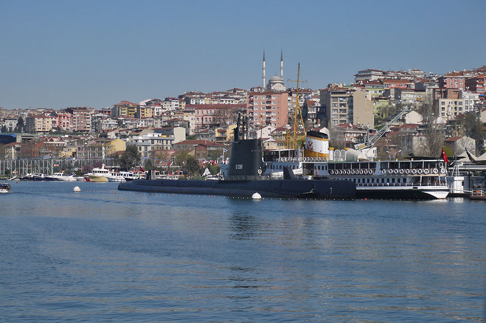 Подводная лодка – экспонат политехнического музея Рахми Коча