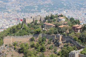 Аланьи, крепость