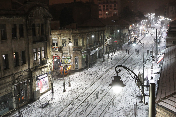 Израиль зима