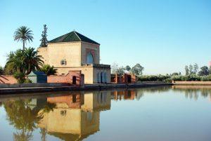 Домик с бассейном в Марракеше