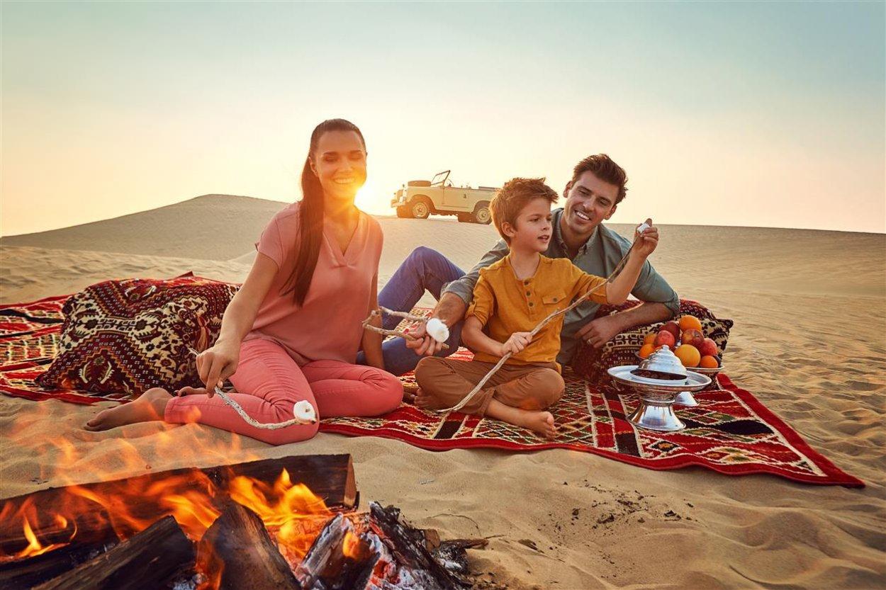Пикник в пустыне