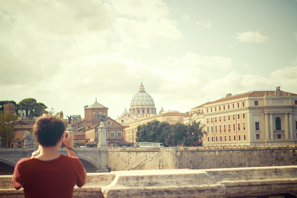 Рим, вид на Ватикан