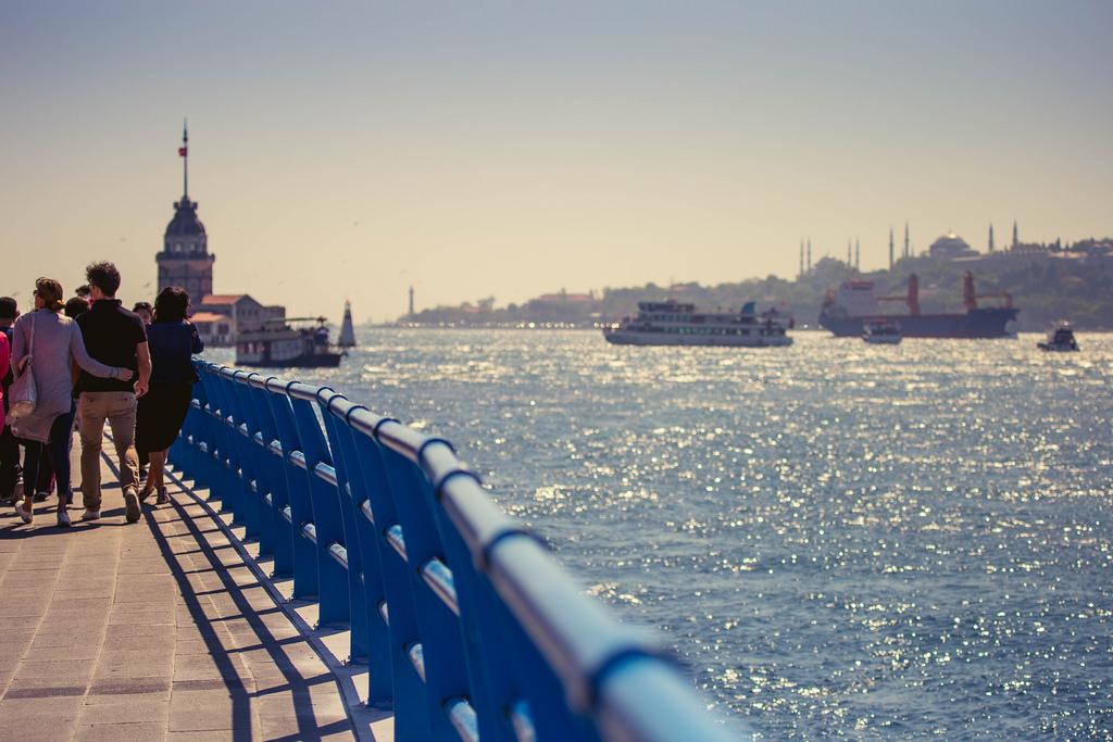 Стамбул, маяк