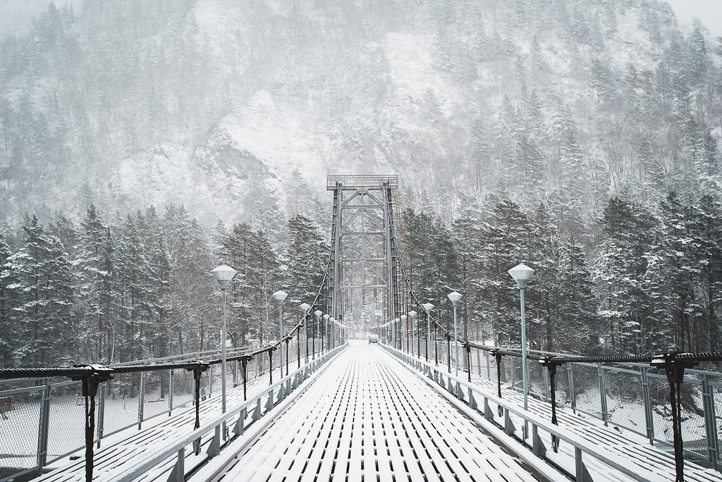 Мост где-то на Алтае