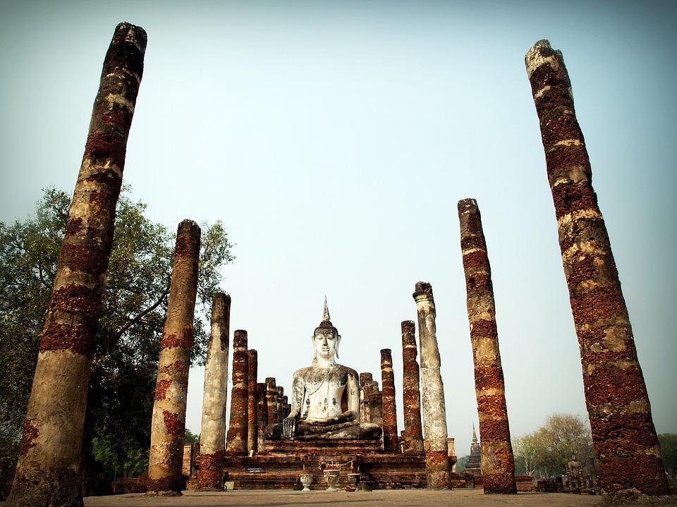Древнее святилище Будды