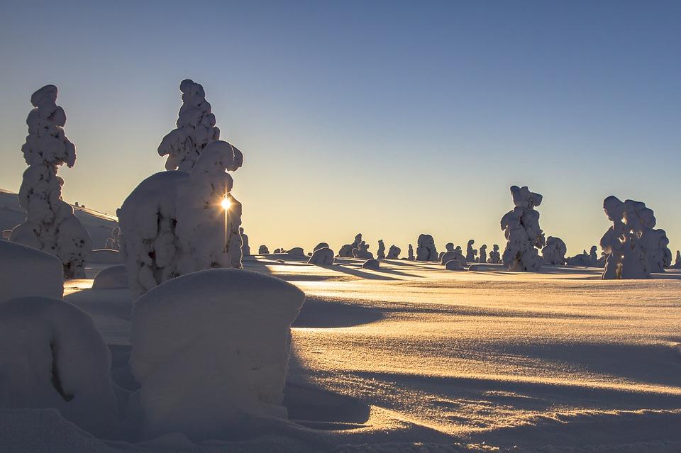 Финляндия в феврале