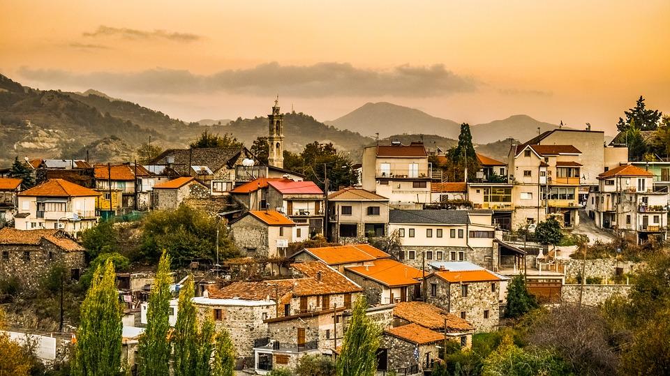 Деревня на Кипре