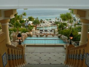 Вид из отеля в Табе