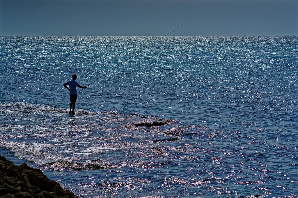 Рыбак почти Иисус