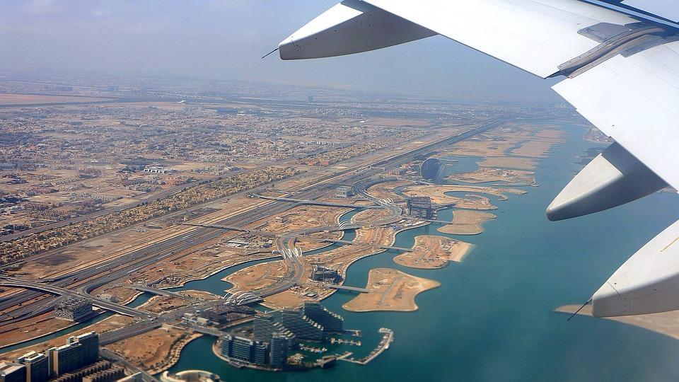 ОАЭ с самолета
