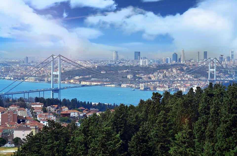 Панорама Стамбула