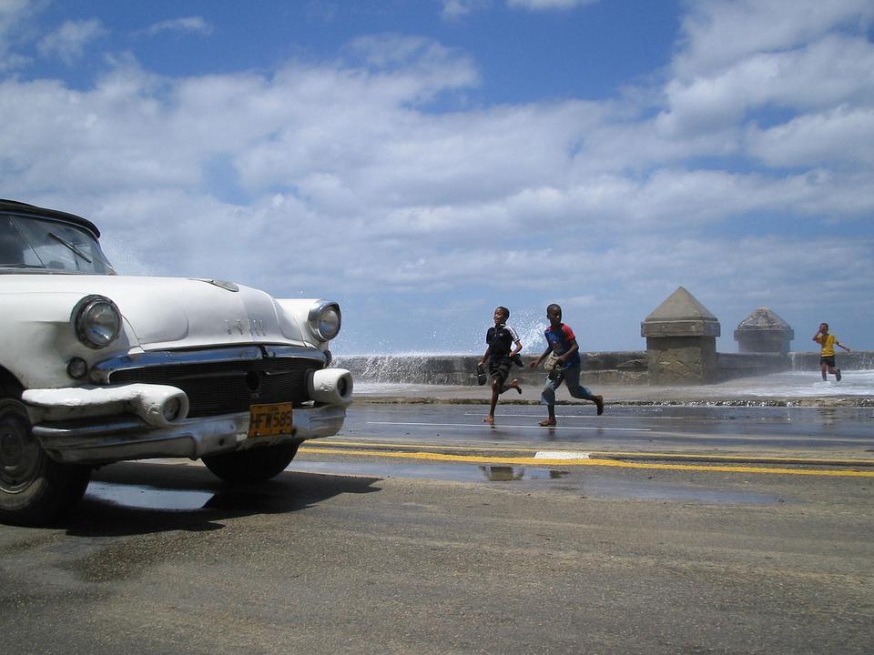 Набережная на Кубе