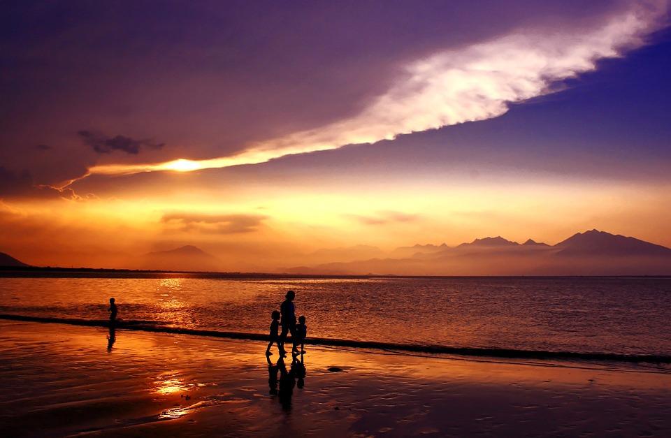 Закат в Дананге