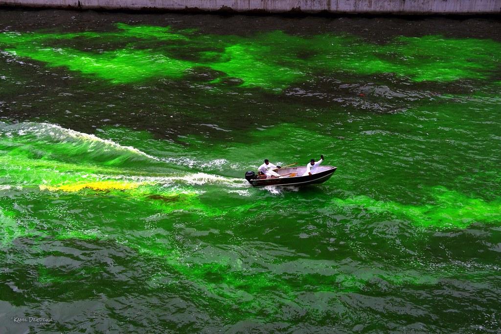 Зеленая река
