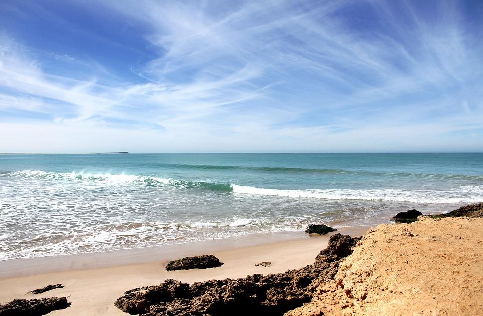 Марокко пляж