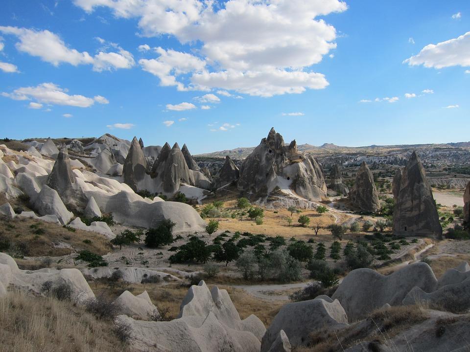 Пейзаж Каппадоки