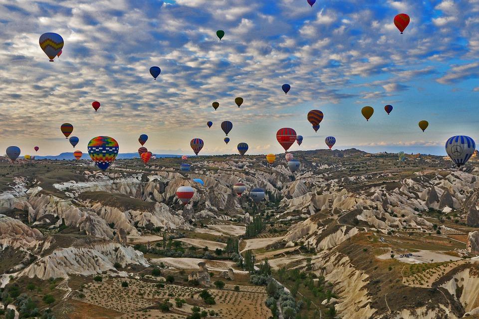 Экскурсия на воздушном шаре
