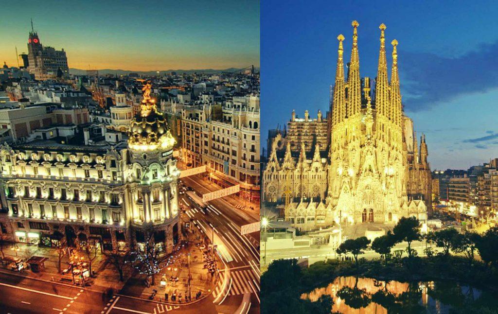 Мадрид или Барселона