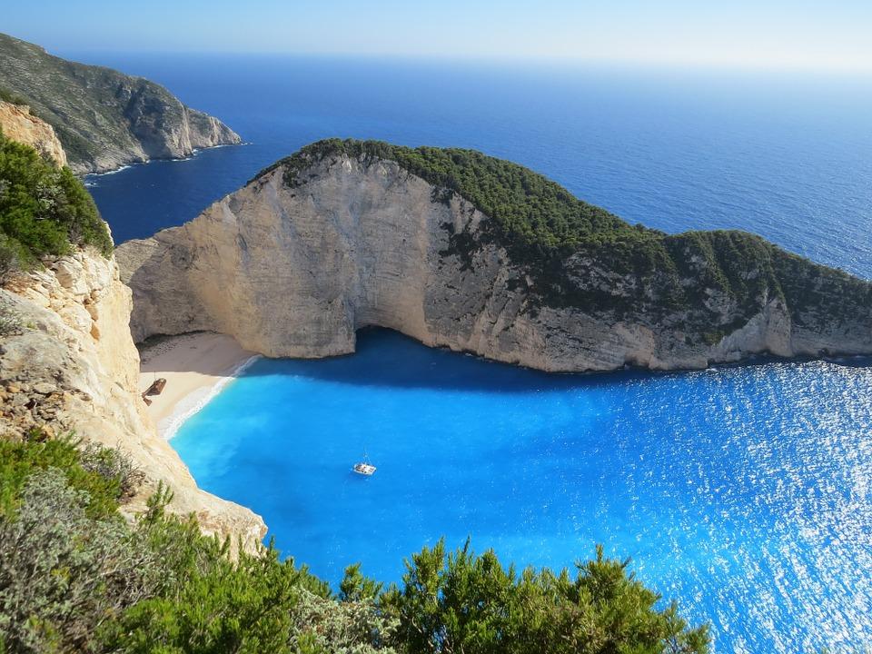 Греция залив