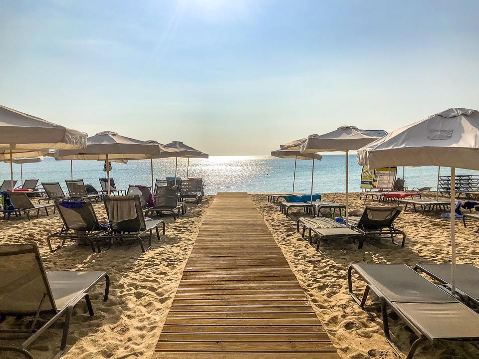 Местный пляж в Болгарии