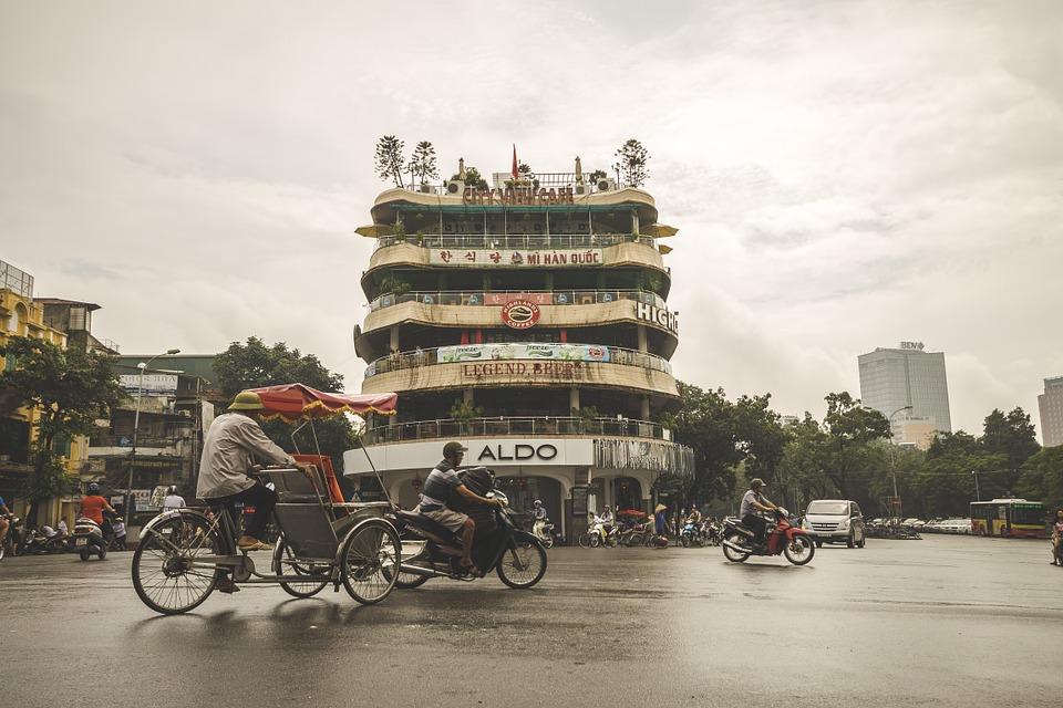 Дождливая погода во Вьетнаме