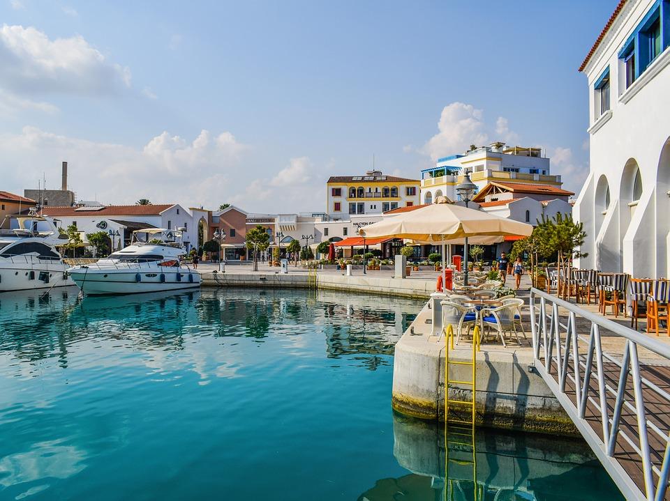 Порт Лимассола на Кипре