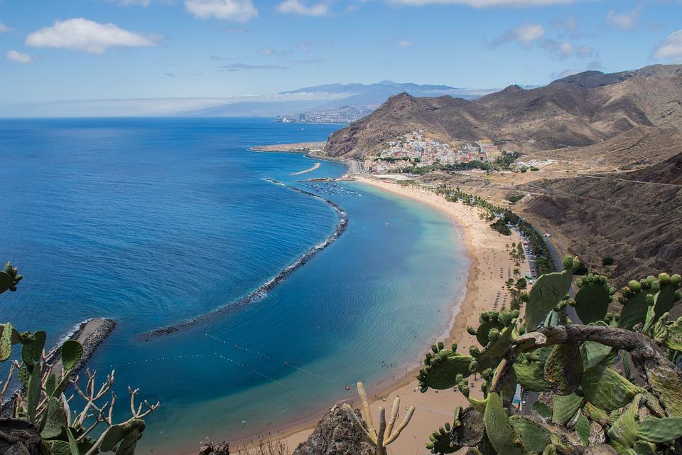 Побережье острова Тенериф