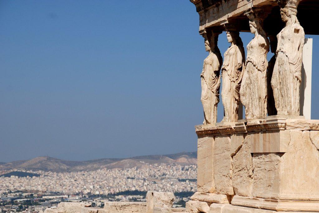 Акрополь колоннада