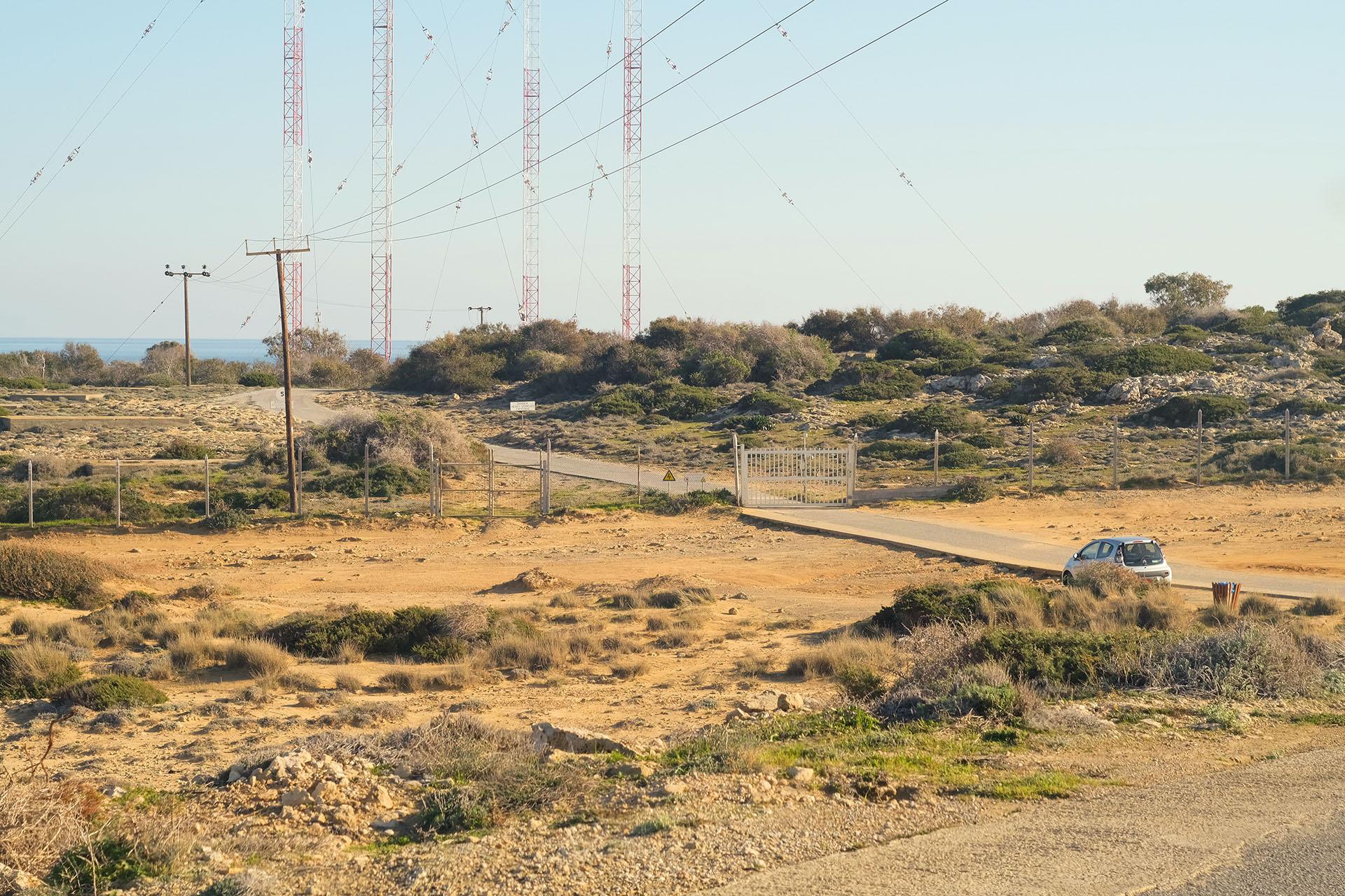На машине по Кипру, военная база на мыс Греко