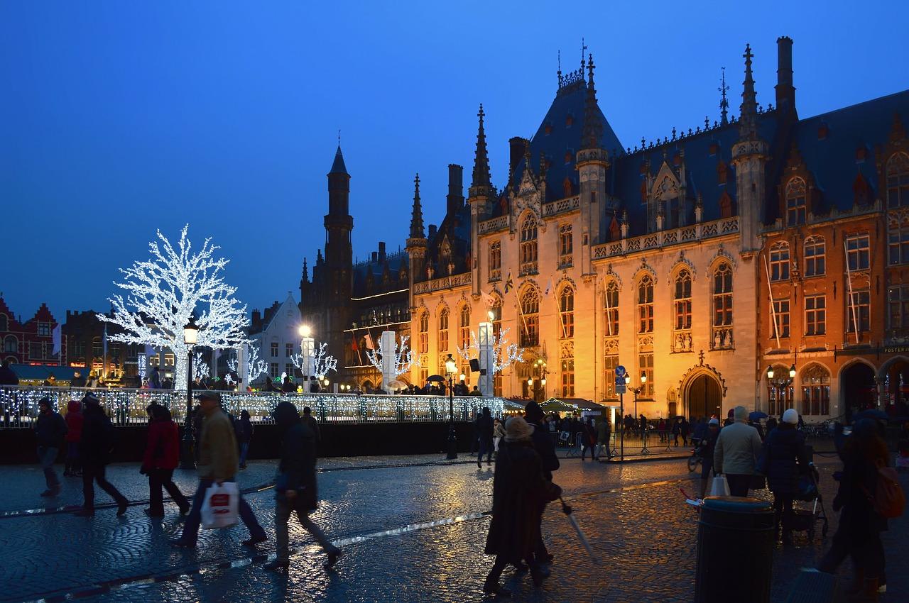 Рождественские ярмарки в Брюгге
