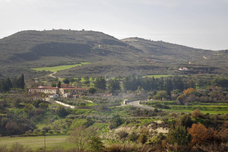 Вид на монастырь Минас