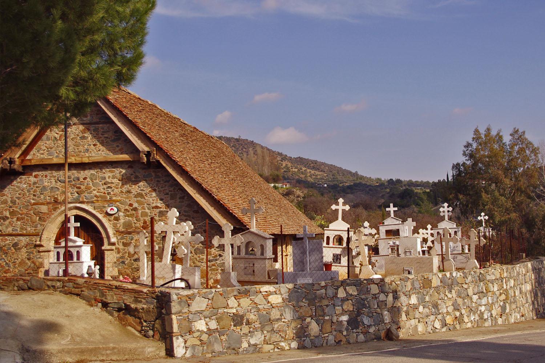 Кипр старое кладбище