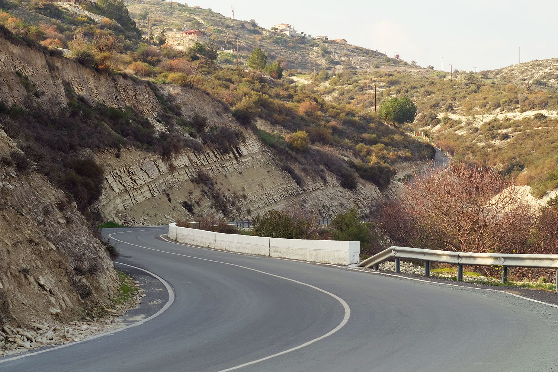 Дороги на Кипре идеальные