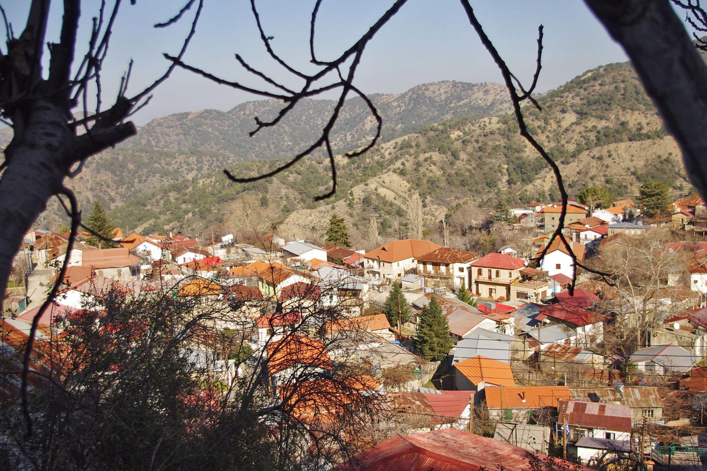 Деревня Калопанайотис Кипр
