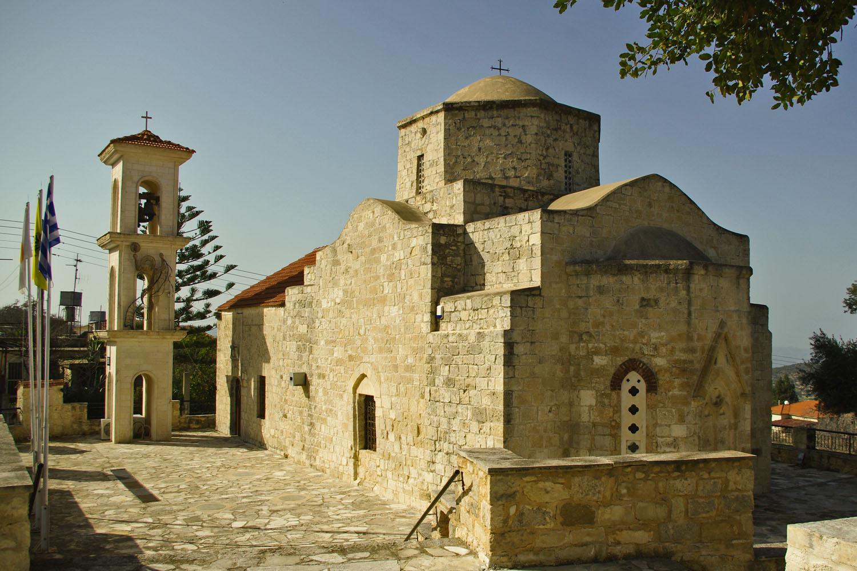 Церковь деревушки Лисос Кипр