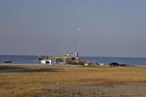 Остров Джарылгач пристань