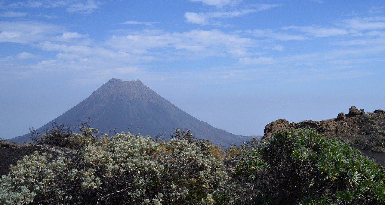 Кабо Верде - вулкан