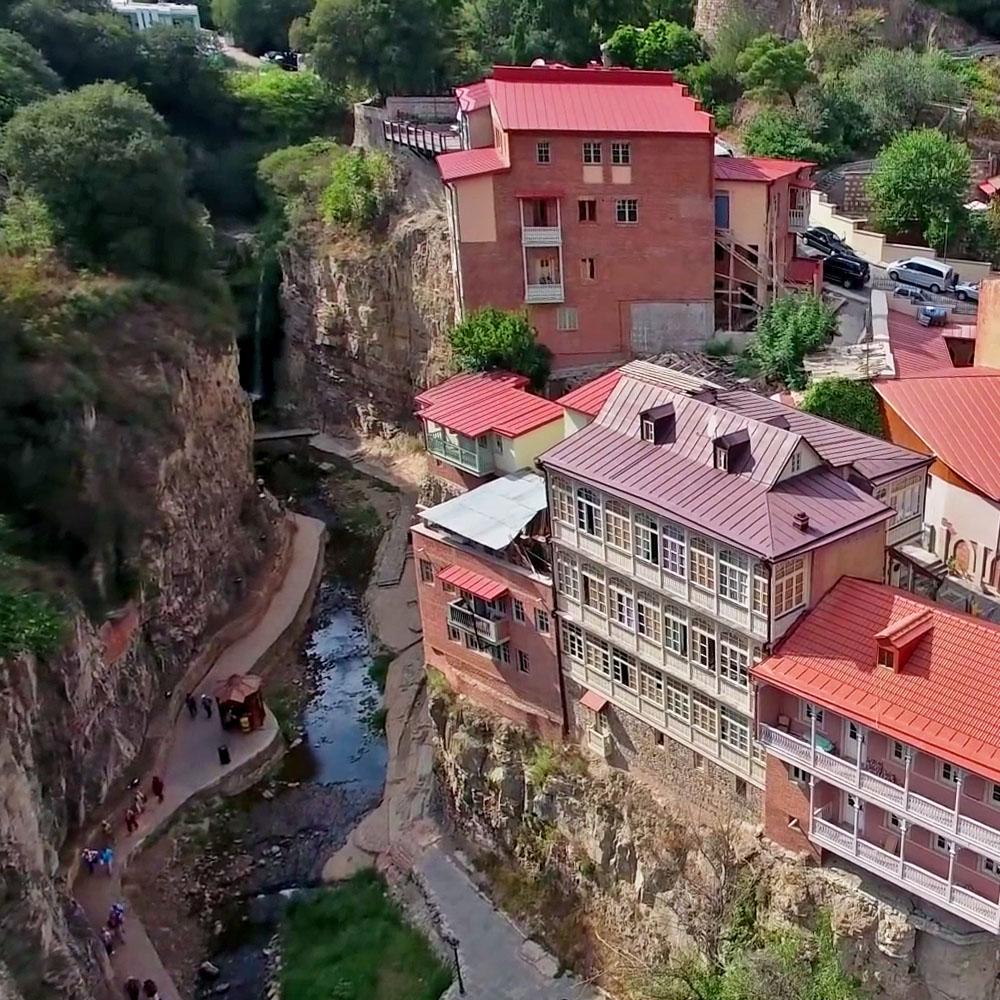 Каньон в центре Тбилиси