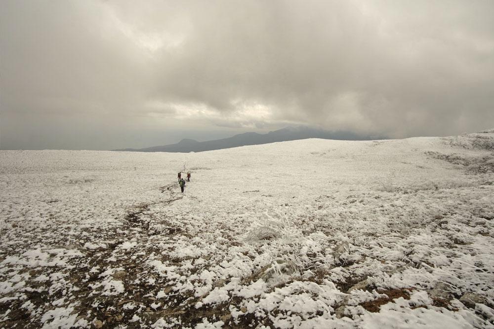 По верхнему плато Чатырдага